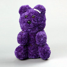 Large Teddy Bear Forget Me Not Flower Buy Bouquet