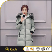 Hot selling mult color women green black outerwear down jacket