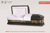 KM1862 American metal caskets china caskets wholesale manufacturers