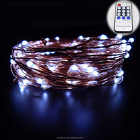 led rain drop light 20m Copper Wire String Lights