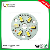 9W E27 LED Bulb PCB, SMD5730 LED Circuit Board For Bulb light
