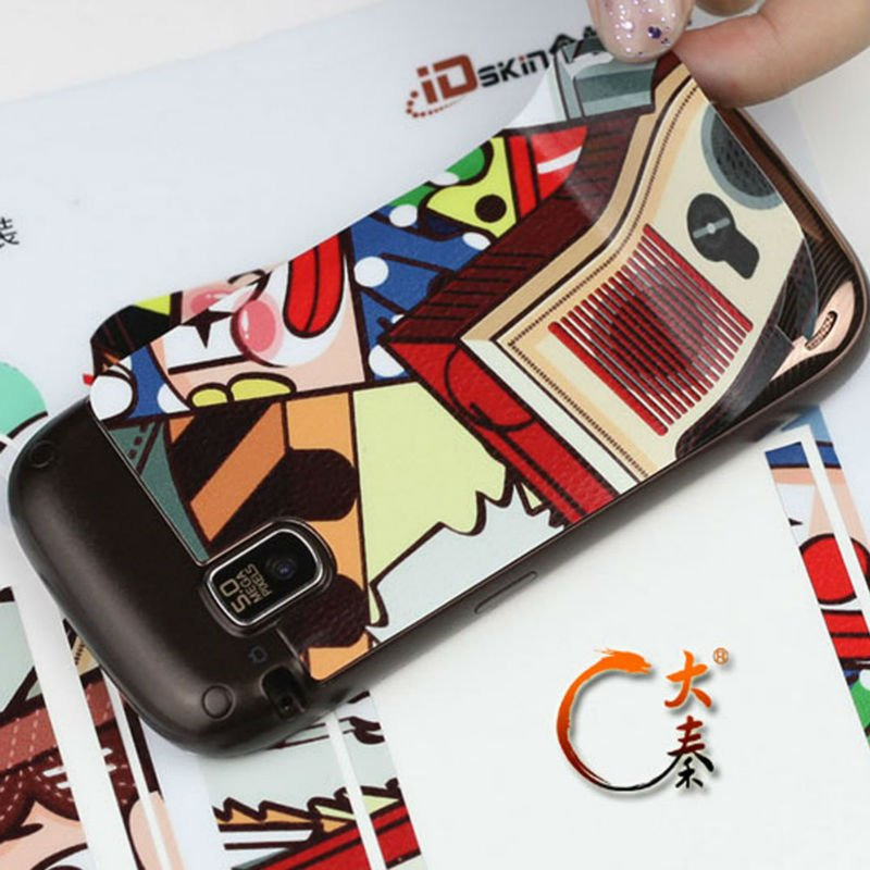 Mobile phone customize sticker-a