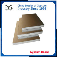 china factory 12mm thick gypsum board wall partition price