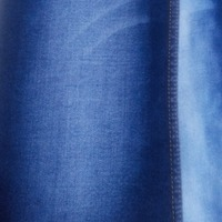A783 Woven blue ladies super stretch tr denim fabrics for trousers
