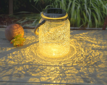 Wholesale garden mason jar lid solar lights