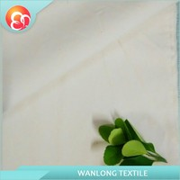 Plain grey mercerizing thin light polyester cotton Fabric