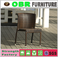 Outdoor furniture stackable rattan garden rattan chair