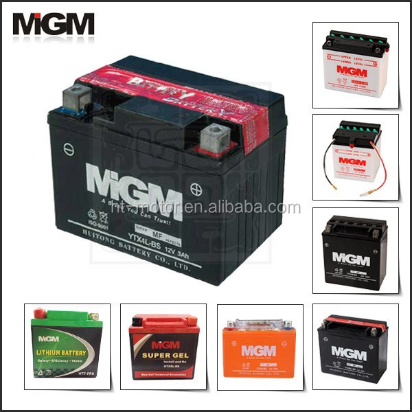 motorcycle battery YTX4-BS,uses for motorcycle battery acid