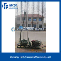 2015 best choice!Most economical!!small volume!HF80 hand water well drilling equipment