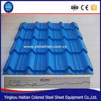 Prepainted Color Coated Steel Roofing/pre-coated roofing tiles/types of roof tiles