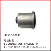 TOYOTA HILUX BUSHING;SUSPENSION/OE:48632-0K040