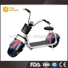 Most Popular Cool best cheap price unfoldable Citycoco Harley scooter 2 wheels Electric Motorcycle with 2 seat sports