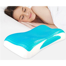 Wholesale High Quality Best Selling Comfortable Cooling Gel neck memory foam pillow