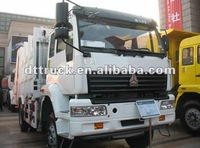 HOWO garbage compactor truck 10000L