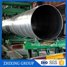 good quality saw large diameter spiral welded steel pipe