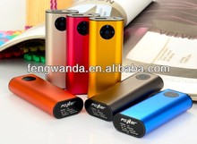 HOT SALE Sliver 4500mAh Dual USB Portable Power Bank XH12 for smart phone iPad