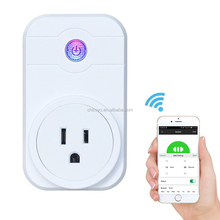 New smart home Xenon timer EU wifi power socket plug outlet,smart phone Wireless Controls Socket