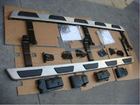 German car Q7 auto parts used stainless steel and pp for Q7 Running Boards