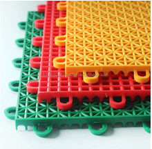 250x250x13mm Outdoor pp interlocking basketball sport flooring