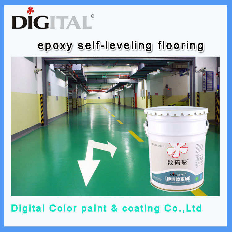 Epoxy self-leveling flooring primer coating