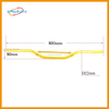 yellow motorcycle handle D22 800mm big pit bike 150cc 200cc