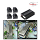 3D 360 Degree Surrounding Bird View Security System For Bus Truck 4 Way Car Camera Recording For Commercial Vehicle