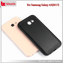 2017 hot sale phone case for galaxy a3 2017 skin leather TPU+PC single cell cover phone case