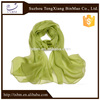 100% silk pure color long silk scarves/scarf