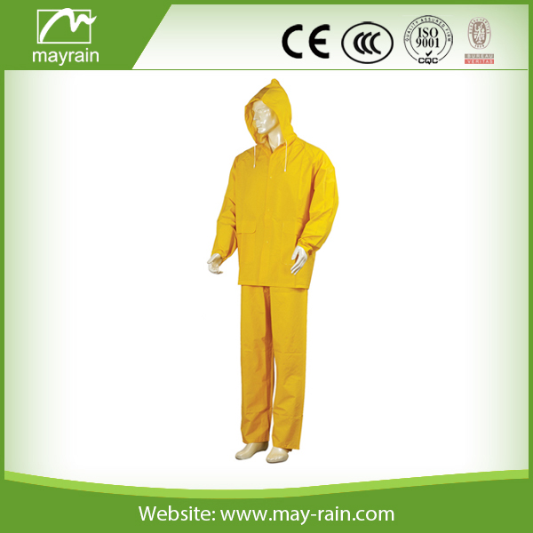 PVC motorbike Waterproof Rain Suit