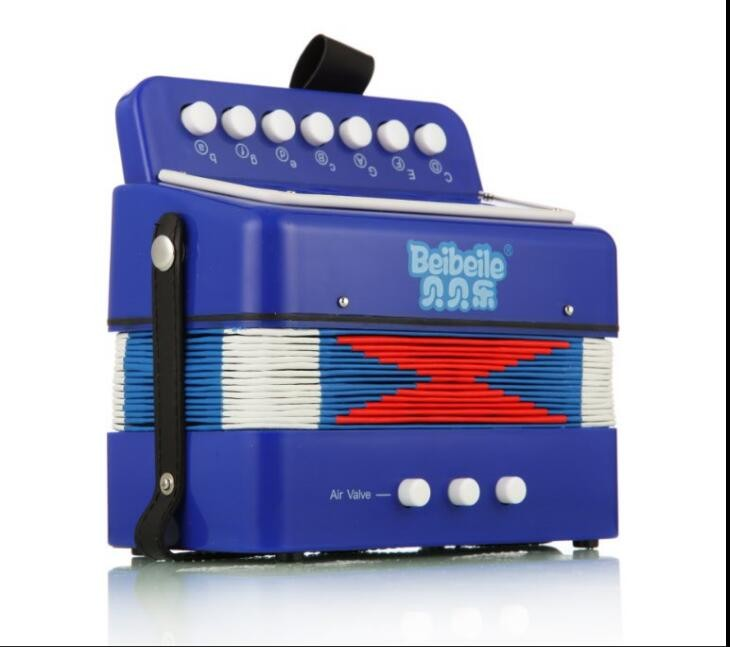 Popular and cheap chromatic mini button accordion for little child