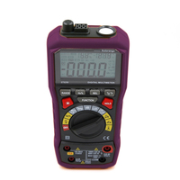 Multifunction 4000 counts pocket digital multimeter with Large LCD and back light