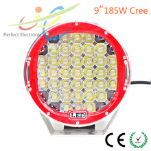 High power 9inch 185W Cree LED drinving light offroad led work light