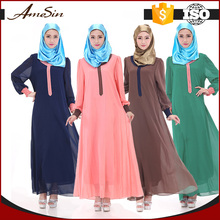 AMESIN Wholesale china import abaya indonesia muslim dress