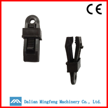 black good price plastic tarp clips for tent