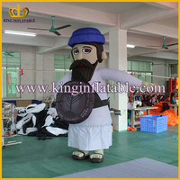 Customized Adult Old Man Inflatable Walking