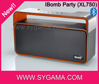 China export bluetooth music loud portable speaker with FM radio
