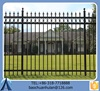 Ornamental Aluminium Fence Wholesale/Red Temporary Security Fence For Road/Decorative Metal Fence For Sale