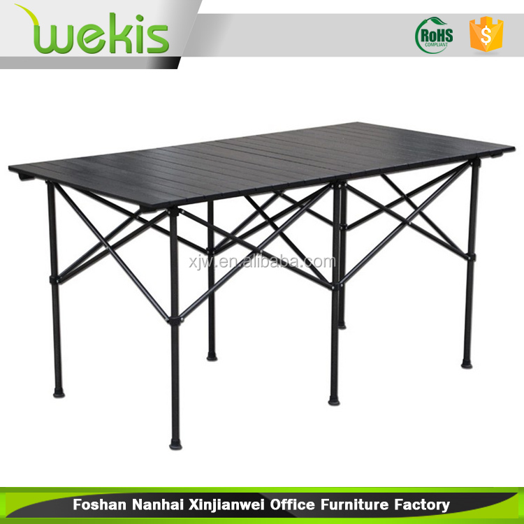 Custom Made Elegant HDPE Top Portable Plastic Multipurpose Folding Table