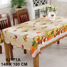 Flannel laminated plastic table cover manufacturer
