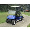 Durable battery power 4 seater golf carts buggy with rain cover