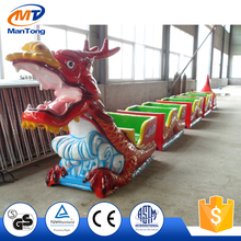 Kiddie Ride Indoor Mini fun Roller Coaster Sliding Dragon for Sale