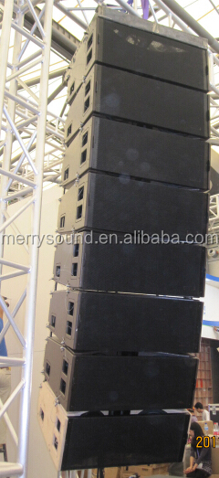 dual 12 inch line array KUDO professional speaker stage equipment