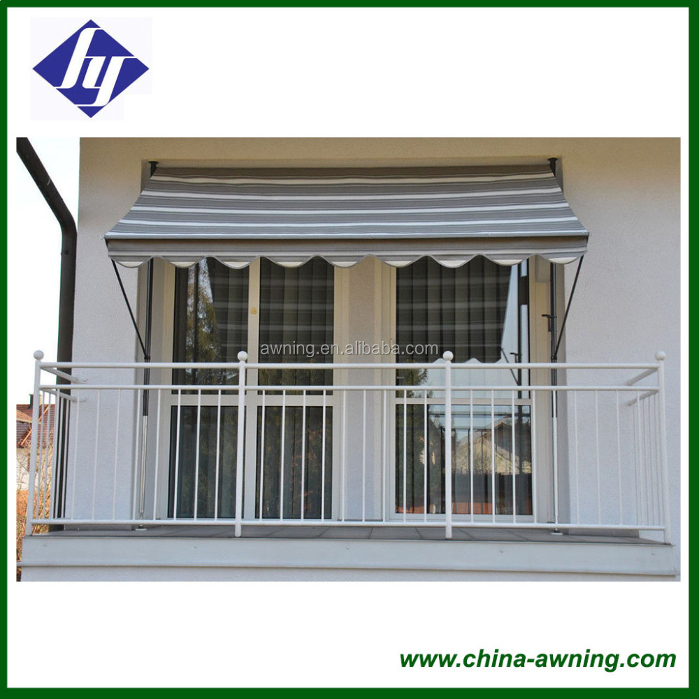 2017 New Products Full Cassette Retractable Awning Customized Motorized  Balcony Awning