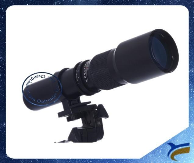 500mm F/8 Zoom Telephoto Lens For Canon Rebel Xs T1i T2i T3 T3i T4i Dslr Cameras