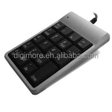 Scissor-Type Numeric Keypad for notebook users, Non-synchronous