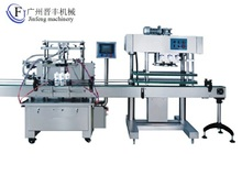 Automatic mineral water bottle filling capping machine