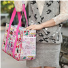 Fashionable pet carrier bag and cute dog pet shopping bag