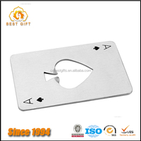 Beautiful promotioan gifts joker shape credit card bottle opener