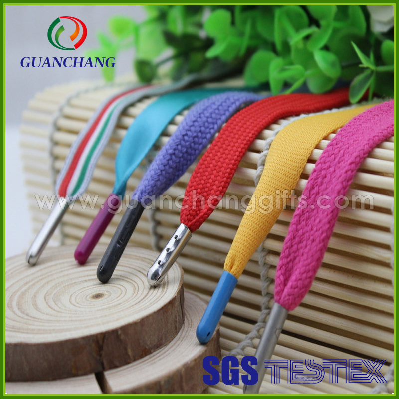 fashion colorful custom made shoelace charms wholesale, metal shoelace tag with custom logo, shoelace bracelet