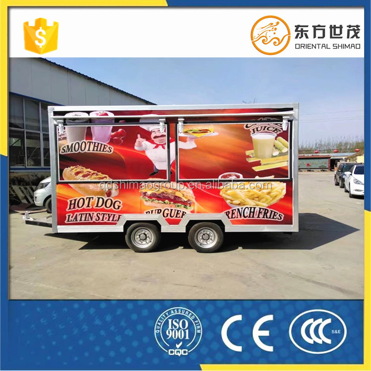 mobile hamburgers fryer food trolley cart design hot dog cart <strong>manufacturer</strong> philippines